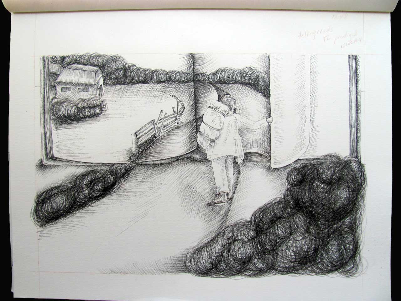 "Sketch for ""Prodigal"", published by tellingreads.com"